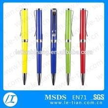 LT-B707 Small quantity order metal ball pen with mix color