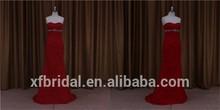 Super bare black mermaid dress designer bridesmaid dress 2012