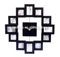 2014 new design gift photo frame clock
