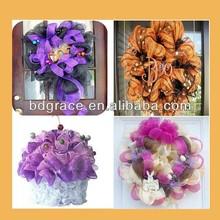 use the pp mesh net make the artifici handmade flowers