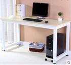 solid melamine board metal modern furniture home office desk