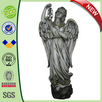 27 inch Girl Garden Ornaments Angels with Light