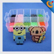 funny puzzle children hama perler beads hama beads peg board 2014 lucky beads bracelet