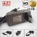 Enchufe de pared cc 12v 24v luz de la navidad de suministro de energía- escritorio de pared- montado de ca adaptador de corriente continua