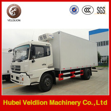 140HP Dongfeng 14 ton refrigerator cooling van for sale