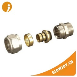 (FT1200)High quality Straight pex brass forged fittings ,brass compression fittings,copper press fittings
