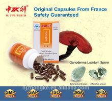 Ganoderma Lucidum Extract Shell-broken Spore Powder Herbal Capsule