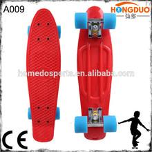 plastic skateboard mini cruiser complete