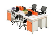 colourful 4 person office desk modern office table photos