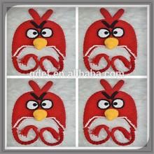 100 cotton baby cap bird animal cap hand crocheted earflap hat hand crocheted cap pattern