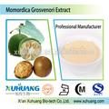 Iso certificado Natural 98% Mogroside V monje extracto de la fruta