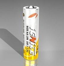 LR6 aa size alkaline battery 1.5v AM3,4pcs per package