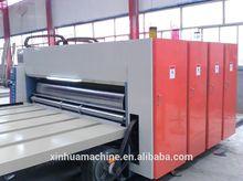 corrugated cardboard flexo ink printing slotting machine/carton box printer slotter machine