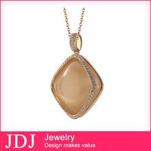 Statement Jewelry Set 2015 Artificial Gemstone Fashion Designs18k Gold Necklace