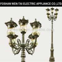 classic street light/pool edge pole light/hotel use garden light