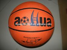 popular rubber promotional basketball size 5 customized logo printing