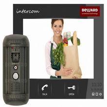 Smart home access control fiber optic surveillance camera