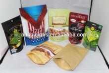 Side Gusset Coffee Bags Dip Tea Bag Coffee Bags With Aluminum Foil Inside