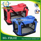 Folding Pet Soft Blue Portable Travel Carrier Dog Crate