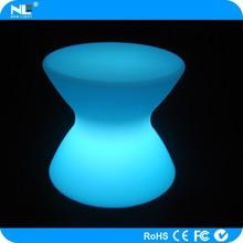 Modern cute LED luminous light table chair