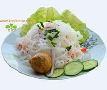 prevent fat konjac noodles, slim konjac shirataki