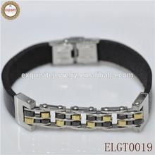 2014 new design unisex stainless steel bio magnetic bracelet IPG plating