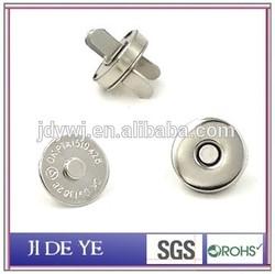 14mmx3.5 nickel 3.5mm magnetic fastener luggage