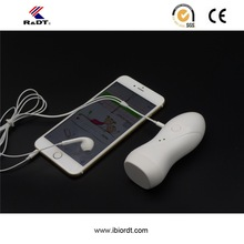 Mini size audio convert cable fetal doppler monitor