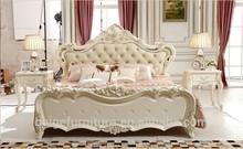 Bd-1507 dormir roupeiro sala móveis cama de casal madeira com gavetas