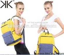 Hot New Sell for 2015 Canvas Outdoor Backpack School Bag Designer Backpack Bag