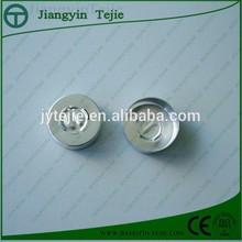 20mm silver easy open aluminum caps for antibiotic bottle