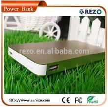 Mini Portable Mobile Phone Dual USB Power Bank , Similar For Iphone4/5