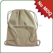 Promotional cheap BOPP cotton drawstring bag