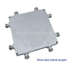 Micro strip 4 in 4 out RF hybrid coupler,800-2500MHz,IBS,BTS,DAS,
