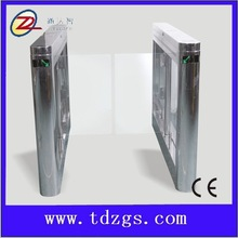 304 stainless steel mirror swing barrier access control system with CE