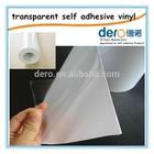 Hot sale car film/transparent self adhesive vinyl