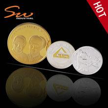 Gold Plated Rare Coins for Souvenir