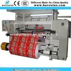professional food packing film slitting machine