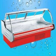 Hot Sale Standard Supermarket Seafood Display Showcase, Meat Display Showcase, Freezer For Seafood(ZQR-20P)