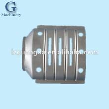 sheet metal shell for car exhaust muffler