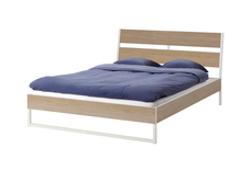 New design Metal MDF board Bed with bed frame