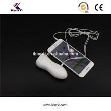Handheld audio convert cable fetal doppler monitor