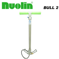 BULL 3 stage Pre charged stirrup Max.4500psi pcp high pressure hand air pump with valve , gauge , hose and 8mm quick connector