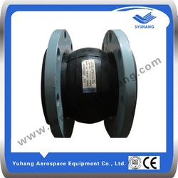 Pipe rubber flexible suspension joints
