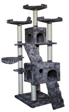 Sisal cat tree, cat furniture, cat tree house for cat crawl