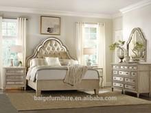 Bd-0008 dormir roupeiro sala móveis cama de casal madeira com gavetas