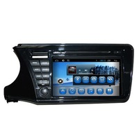 Pure android 4.2.2 touch screen car audio system for city 2014 with dvd Bluetooth/Radio/SWC/Virtual 6CD/3G /ATV/iPod
