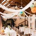 hot venda de papel guirlanda de casamento casamento decoração do quarto