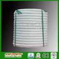 alta temperatura fibra cerâmica praça corda trançada para fornoindustrial