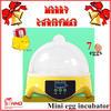 Factory directly price small incubator egg hatching machine mini 7 eggs incubator